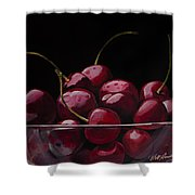 Tasty Cherries Shower Curtain