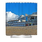 Tate Gallery St Ives Cornwall Shower Curtain