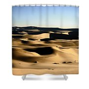 Tatooine Shower Curtain by A Rey