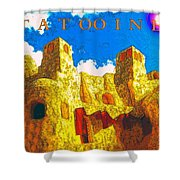 Tatooine One Shower Curtain