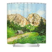 Tatry Giewont - Poland Shower Curtain