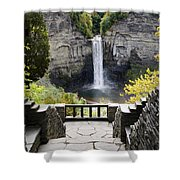 Taughannock Falls Overlook Shower Curtain