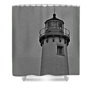 Tawas Point In The Rain Shower Curtain
