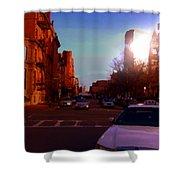 Taxi - Boston Shower Curtain