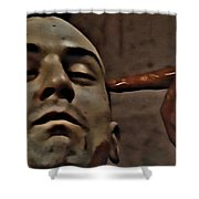 Taxi Driver Shower Curtain