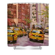 Taxi Taxi Shower Curtain