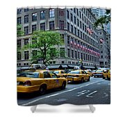 Taxicabs Of New York City Shower Curtain