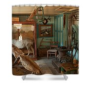 Taxidermy At The Holzwarth Historic Site Shower Curtain