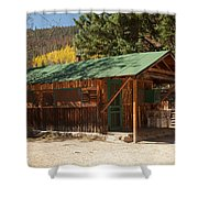 Taxidermyon The Holzwarth Historic Site Shower Curtain