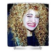 Taylor Dane 1988 Shower Curtain