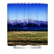 Taylor Park - Colorado Shower Curtain