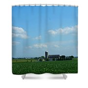 Taylors Farm Shower Curtain