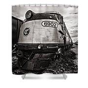 Tc 6902 Shower Curtain by CJ Schmit