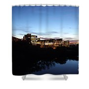 Tcc Trinity River Campus Shower Curtain