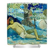 Te Arii Vahine .the Queen Of Beauty Or The Noble Queen. Shower Curtain
