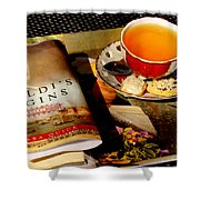 Tea And A Read Shower Curtain