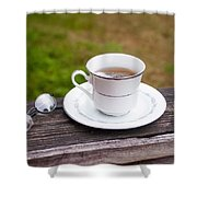 Tea And Art Shower Curtain