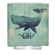 Tea At Two Thousand Feet Shower Curtain