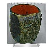 Tea Bowl #1 Shower Curtain