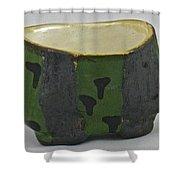Tea Bowl #13 Shower Curtain