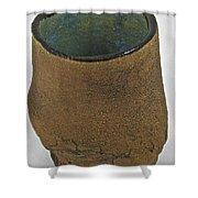 Tea Bowl #17 Shower Curtain