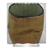 Tea Bowl #18 Shower Curtain