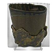 Tea Bowl #19 Shower Curtain