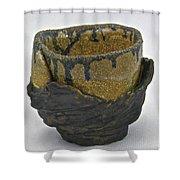 Tea Bowl #21 Shower Curtain