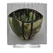 Tea Bowl #3 Shower Curtain