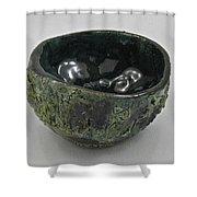 Tea Bowl #5 Shower Curtain