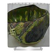 Tea Bowl #6 Shower Curtain