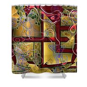 Tea Ceremony Shower Curtain