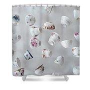 Tea Cups Shower Curtain