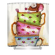 Tea For One Shower Curtain