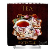 Tea Gallery Shower Curtain