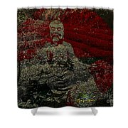 Tea Meditation Shower Curtain
