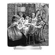 Tea Party, C1902 Shower Curtain