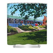 Tea Rooms At The Peoples Park Shower Curtain