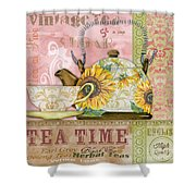 Tea Time-jp2579 Shower Curtain