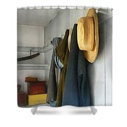 Teacher - Cloakroom Shower Curtain by Susan Savad