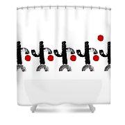 Team Shower Curtain