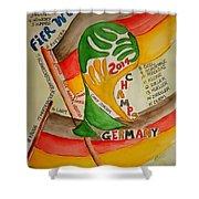 Team Germany Fifa Champions Shower Curtain