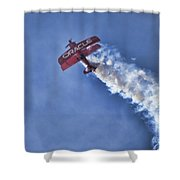 Team Oracle V9 Shower Curtain
