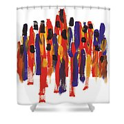 Teamwork Shower Curtain