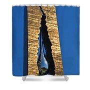 Teardrop  9 - 11 Memorial Bayonne N J  Shower Curtain