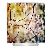 Teardrops Of The Nature Shower Curtain