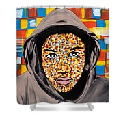 Tears For America Shower Curtain