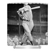 Ted Williams Swing Shower Curtain