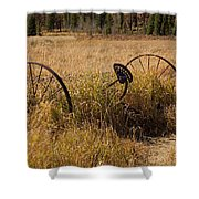 Tedder On The Holzwarth Historic Site Shower Curtain