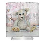Teddy Friend Shower Curtain